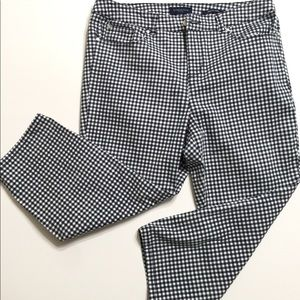Charter Club Checkered Cropped Pants Capris 12P
